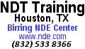 Birring NDE Training